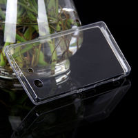 Чехол-накладка на Sony Xperia Z3 compact силикон, ультратонкий, прозрачный