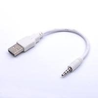 Кабель аудио AUX  jack 3.5мм -  USB(M) для iPod, 0.2м