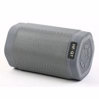 Портативная колонка, HF-Q7, Bluetooth, USB, microSD, FM, микрофон, серый