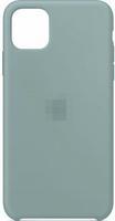 Чехол-накладка на Apple iPhone 12 / Pro, original design, закрытый, микрофибра, с лого, светло-мятны