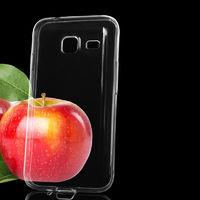 Чехол-накладка на Samsung J1 mini (J105) силикон, ультратонкий, прозрачный
