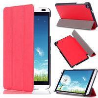 Чехол Smart-cover для Huawei MediaPad M1, полиуретан, красный