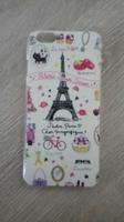 Чехол-накладка на Apple iPhone 6/6S, пластик, paris 2