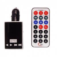 FM-модулятор, Noname M-736, 2xUSB/microSD, aux, пульт