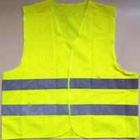 Жилет светоотражающий, 56*68 см, зеленый