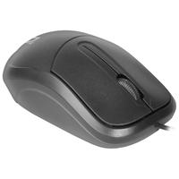 Мышь проводная, Defender ISA-531, оптическая, 3кн, черный