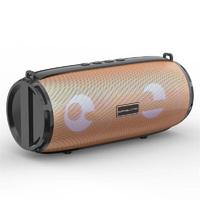 Портативная колонка, Орбита OT-SPB84, Bluetooth, USB, FM, AUX, TF, 10Вт, 1500 mAh, золотистый