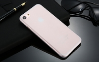 Чехол-накладка на Apple iPhone 7/8 Plus, пластик, ультратонкий, матовый, белый