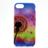 Чехол-накладка на Apple iPhone 7/8 Plus, силикон, colorfull, flowers 1