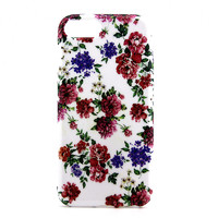 Чехол-накладка на Apple iPhone 7/8 Plus, силикон, colorfull, flowers 2