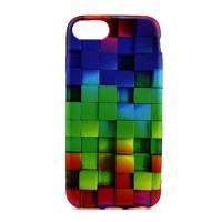 Чехол-накладка на Apple iPhone 7/8/SE2, силикон, colorfull, color cube