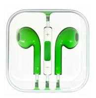 Гарнитура проводная, 3,5мм, Smart Buy i-Three, вакуумная, 1.5 м, зеленый