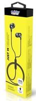 Гарнитура проводная, 3,5мм, Smart Buy Just M, вакуумная, 1.2 м, черный