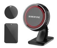 Автомобильный держатель, Borofone BH13, самоклеющийся, магнитный, черный