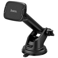 Автомобильный держатель, Hoco CA67, присоска, выдвижная штанга, черный