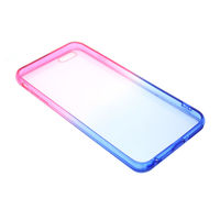 Чехол-накладка на Apple iPhone 6/6S Plus, силикон, градиент, прозрачный