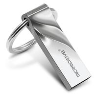 Память USB 2.0 Flash, 32GB, MicroDrive, V design, серебристый