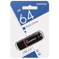 Память USB 2.0 Flash, 64GB, Smart Buy Crown Black