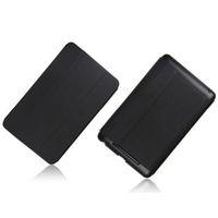 Чехол Smart-cover для Asus Google Nexus 7 1st, полиуретан, черный