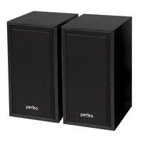 Активные колонки USB Perfeo Cabinet (F-84-BK), 2x3W, черный