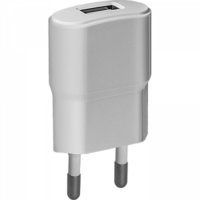 Сетевое зарядное устройство USB, Defender UPA-10, 1А, 1xUSB, белый