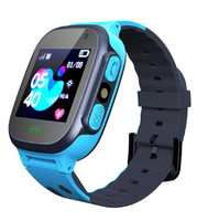 Смарт-часы Q15, детские, Sim, LCD, GPRS, LBS, камера, синий
