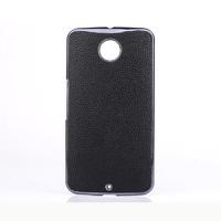 Чехол-накладка для Motorola Nexus 6 пластик, черный