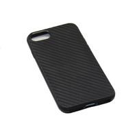 Чехол-накладка на Apple iPhone 7/8 Plus, силикон, карбон, черный