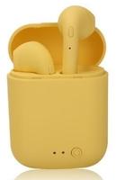 Гарнитура беспроводная, TWS mini-2, Bluetooth 5.0, сенсорное управление, желтый