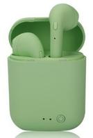 Гарнитура беспроводная, TWS mini-2, Bluetooth 5.0, сенсорное управление, зеленый