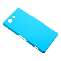 Чехол-накладка на Sony Xperia Z3 compact пластик, голубой