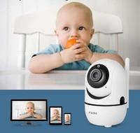 IP-камера Aisee, 1080p, Wi-Fi, microSD, вращение 360 гр, ночной режим, белый
