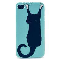 Чехол-накладка на Apple iPhone 6/6S, пластик, cat