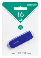 Память USB 2.0 Flash, 16GB, Smart Buy Dock Blue