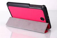 Чехол Smart-cover для Asus MeMo Pad 7 (ME176), полиуретан, розовый