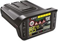 Видеорегистратор 3в1, Inspector Barracuda, GPS радар, радар детектор, FHD, LCD 2.4', GPS, 135