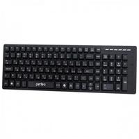 Клавиатура Perfeo Pyramid (PF-8005), USB, мультимедийная, черный