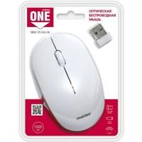 Мышь беспроводная, Smart Buy 351 ONE, оптическая, 3кн, белый