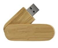 Память USB 2.0 Flash, 32GB, BiNFUL, дерево, wood №14, carbonized bamboo