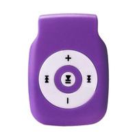 MP3-плеер, microSD, (без кабеля, без наушников), фиолетовый