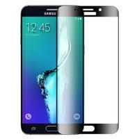Защитное стекло Samsung Galaxy S6 на дисплей, с рамкой, черный