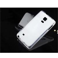 Чехол-накладка на Samsung Note Edge силикон, белый