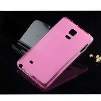 Чехол-накладка на Samsung Note Edge силикон, розовый