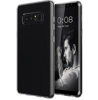 Чехол-накладка на Samsung Note 8 силикон, ультратонкий, прозрачный