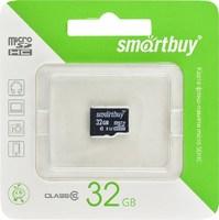 Карта памяти MicroSDHC 32GB Smart Buy, Class 10 (без SD адаптера)