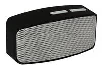 Портативная колонка, Binmer, Bluetooth, USB, FM, AUX, microSD, серый