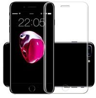 Защитное стекло для Apple iPhone 7 (8) на дисплей, 4D, прозрачный
