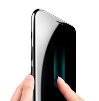 Защитное стекло Apple iPhone X/Xs на дисплей, 4D, прозрачный