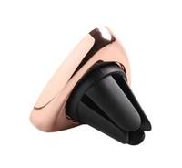 Автомобильный держатель, Noname, магнитный, треугольный, розовый, золотистый