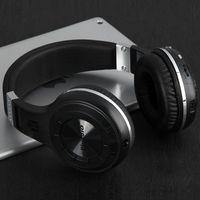 Наушники с микрофоном, Bluedio H-Turbine, Bluetooth, jack 3,5мм, 6 кн, черный
